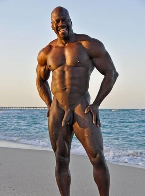 Famous black men nude