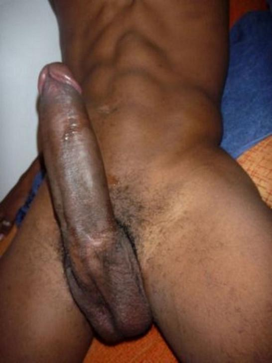 Picture of a big black dick