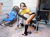 Tiara workout sexy photos