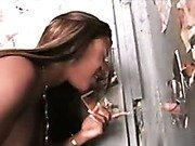 Dirty ebony gloryhole!