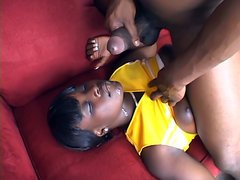 Hershey gets jet of hot cum