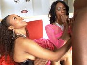 Vivica J Cox and Madison Luv