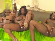 Jada Fire, Amile Waters and Brown Suga.