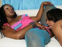 Black lesbian Tiffany Stacks