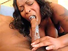 Skyy Black takes a bone in the throat