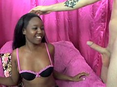 Nina Devon wanted him for a long time and she'd slowly been working towards having him. Now is the right time and the guy just can't resist this black girl and once you see the way she fucks and takes dick you wouldn't want to resist the temptation to get