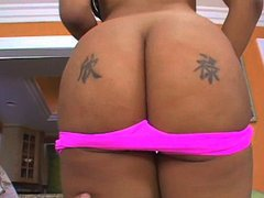 Here's a sexy little Kapri Styles, who wants to make you feel good. She is a sexy. very sexy... Kapri is going to strip for you and then tease you by letting you get up close and personal to her sexy black body and round black ass. while she plays with it